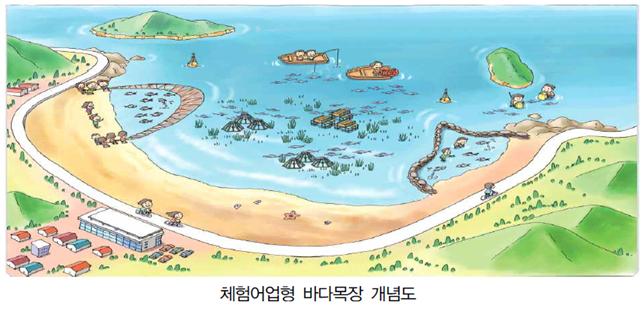 체험어업형 바다목장 개념도